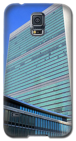 Galaxy S5 Case featuring the photograph United Nations 1 by Randall Weidner