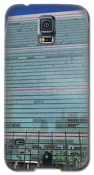 Galaxy S5 Case featuring the photograph United Nations 3 by Randall Weidner