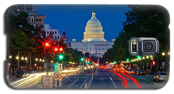 United States Capitol Along Pennsylvania Avenue In Washington, D.c.   Galaxy S5 Case
