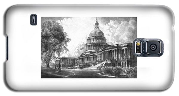 United States Capitol Building Galaxy S5 Case by War Is Hell Store
