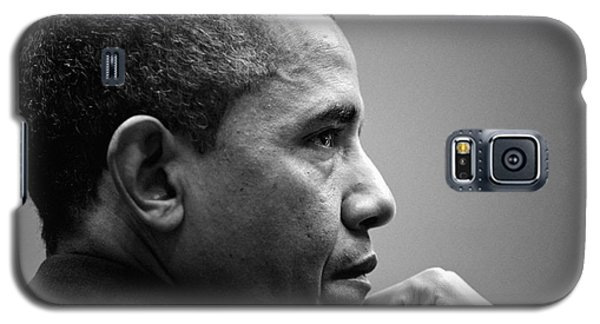 United States President Barack Obama Bw Galaxy S5 Case