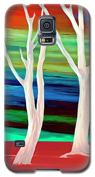 Galaxy S5 Case featuring the photograph United Trees by Munir Alawi