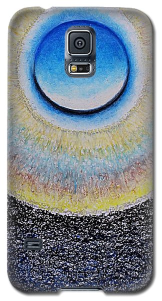 Universal Eye In Blue Galaxy S5 Case