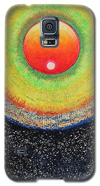 Universal Eye In Red Galaxy S5 Case
