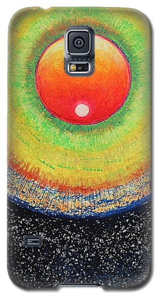 Universal Eye In Red Galaxy S5 Case