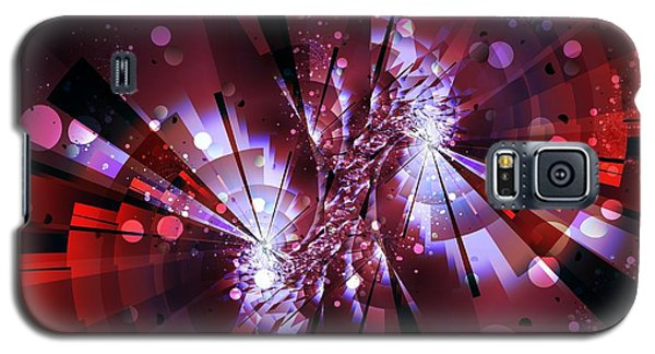 Galaxy S5 Case featuring the digital art Universal by Michelle H