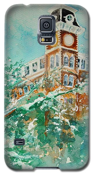 Ice On Old Main Galaxy S5 Case by Robin Miller-Bookhout