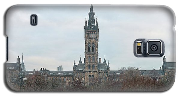 University Of Glasgow At Sunrise - Panorama Galaxy S5 Case