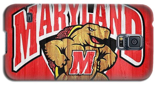 University Of Maryland Barn Door Galaxy S5 Case