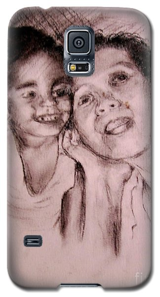 Galaxy S5 Case featuring the drawing Unlimited Love 2 by Jason Sentuf