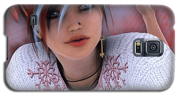 Unlock My Heart Galaxy S5 Case