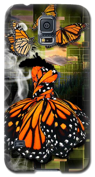 Galaxy S5 Case featuring the mixed media Unrestricted by Marvin Blaine