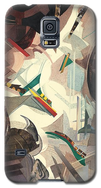 Untitled Abstract Galaxy S5 Case