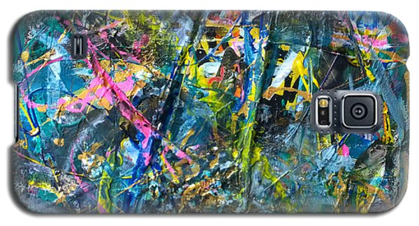 Galaxy S5 Case featuring the painting Untitled Abstraction by Robert Anderson