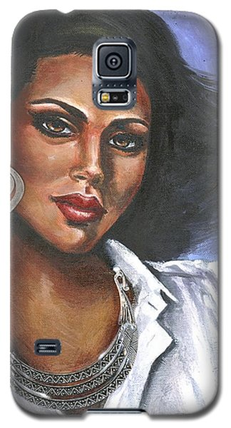 Galaxy S5 Case featuring the painting Untitled by Alga Washington