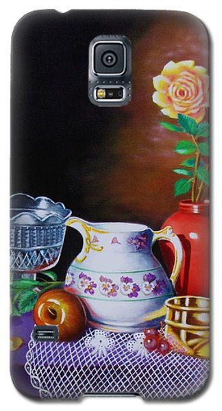 Galaxy S5 Case featuring the painting Nostalgic Vision by Gene Gregory