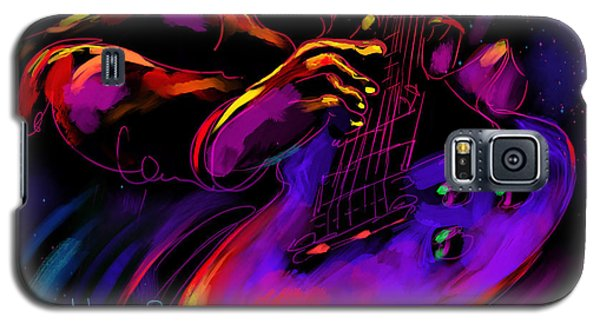 Untitled Guitar Art Galaxy S5 Case by DC Langer