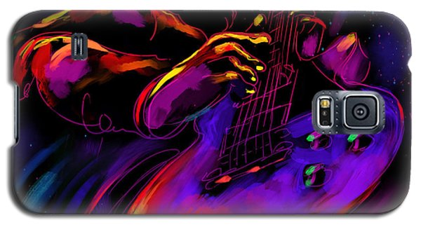 Untitled Guitar Art Galaxy S5 Case
