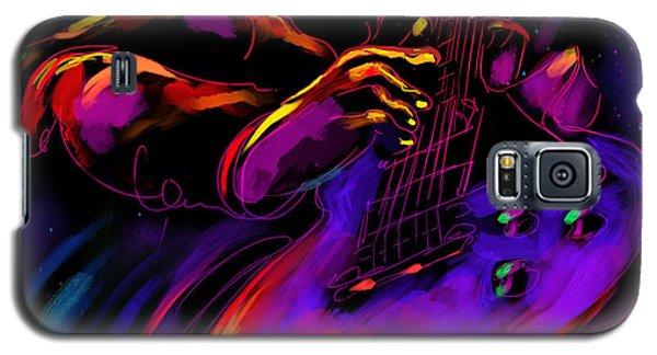Untitled Guitar Art Galaxy S5 Case