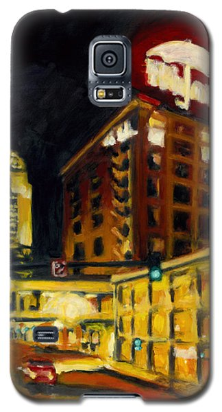 Untitled In Red And Gold Galaxy S5 Case