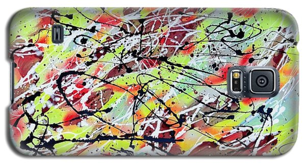 Galaxy S5 Case featuring the painting Untitled by Patrick Morgan