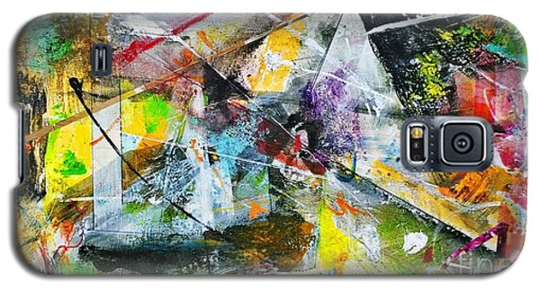 Galaxy S5 Case featuring the painting Untitled by Robert Anderson