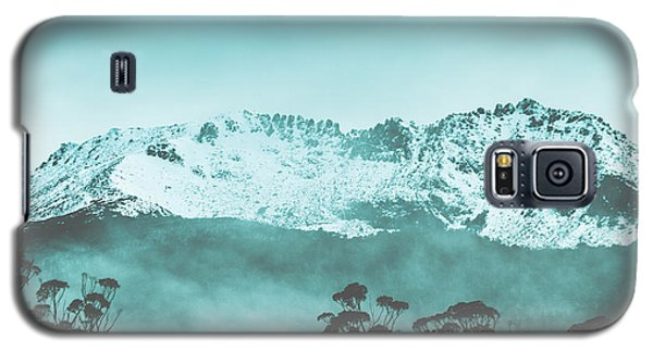 Icy Galaxy S5 Case - Untouched Winter Peaks by Jorgo Photography - Wall Art Gallery