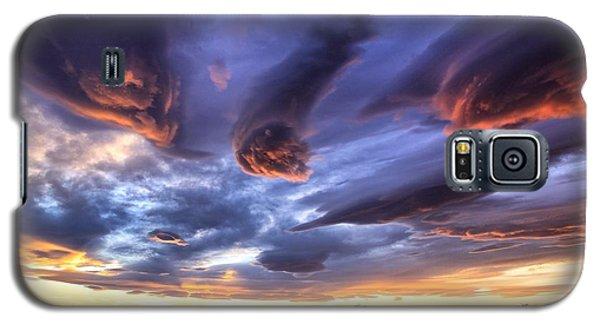 Alien Cloud Formations Galaxy S5 Case by Lynn Hopwood