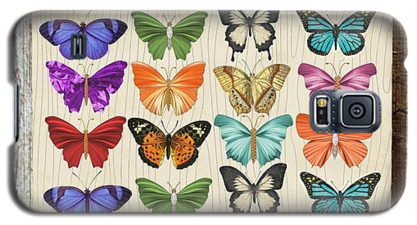 Colourful Butterflies Collage Galaxy S5 Case
