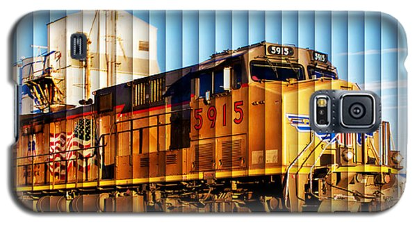 Galaxy S5 Case featuring the photograph Up 5915 At Track Speed by Bill Kesler