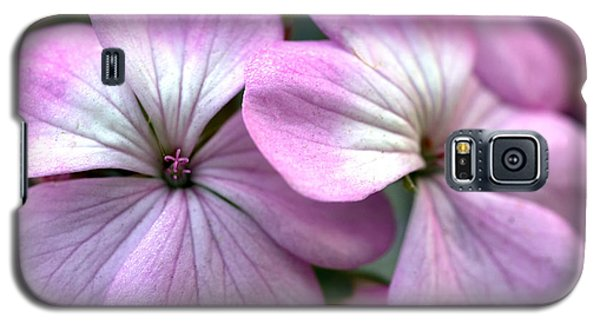 Galaxy S5 Case featuring the photograph Up Close And Personal by Wanda Brandon
