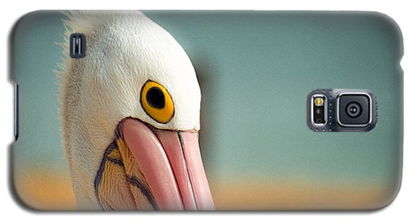 Up Close And Personal With My Pelican Friend Galaxy S5 Case