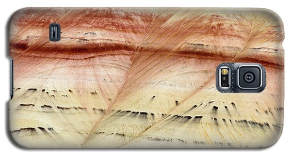 Galaxy S5 Case featuring the photograph Up Close Painted Hills by Greg Nyquist