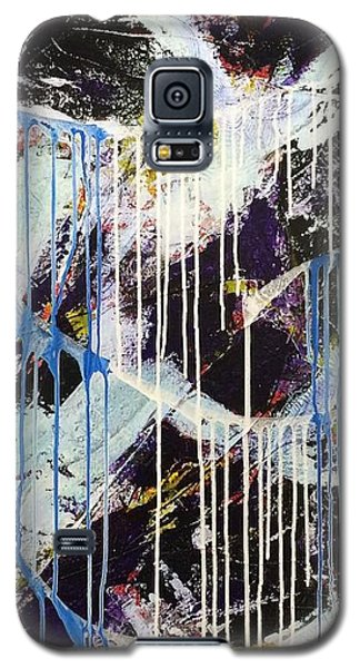Galaxy S5 Case featuring the painting Up In The Air by Sheila Mcdonald
