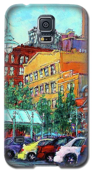 Up On Broadway Galaxy S5 Case