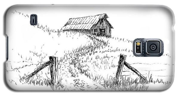 Up The Hill To The Old Barn Galaxy S5 Case