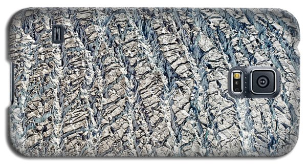 Upclose And Personal Of A Glacier Galaxy S5 Case