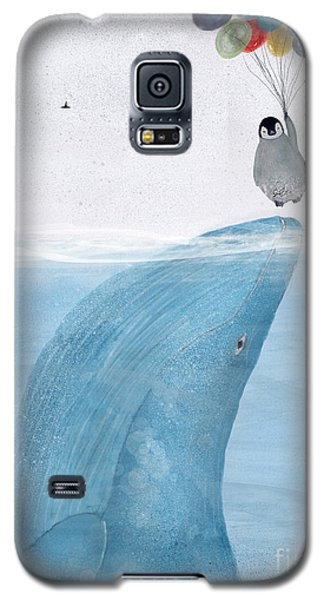 Galaxy S5 Case featuring the painting Uplifting by Bri B