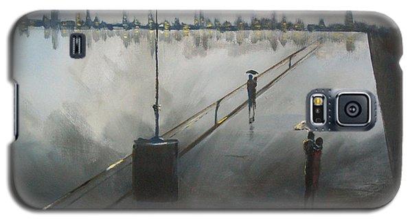 Upon The Boardwalk Galaxy S5 Case by Raymond Doward