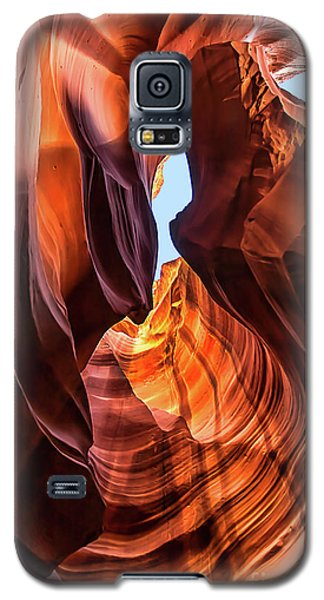 Upper Antelope Canyon Galaxy S5 Case