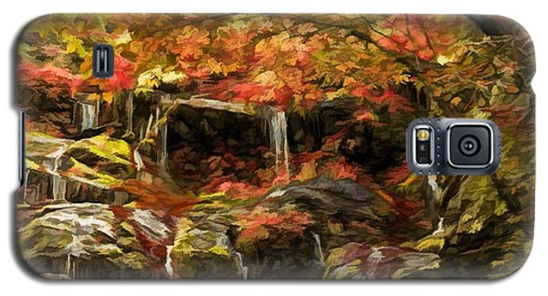 Upper Catawba Falls North Carolina Galaxy S5 Case
