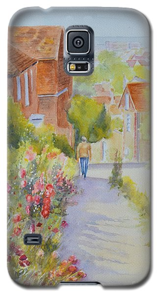 Upper Church Hill 2015 Hythe Galaxy S5 Case by Beatrice Cloake
