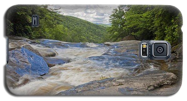 Upper Creek Waterfalls Galaxy S5 Case