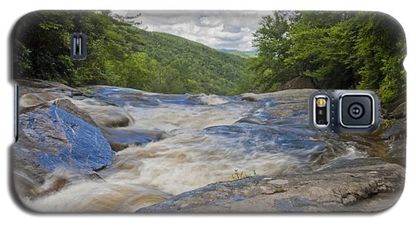 Upper Creek Waterfalls Galaxy S5 Case