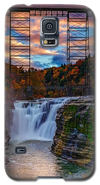 Upper Falls Letchworth State Park Galaxy S5 Case