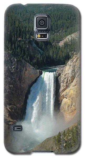 Upper Falls, Yellowstone River Galaxy S5 Case