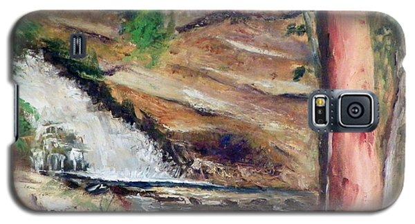Upper Provo River Falls Galaxy S5 Case