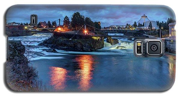 Upper Spokane Falls At Dusk Galaxy S5 Case