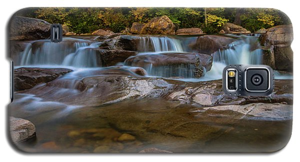 Galaxy S5 Case featuring the photograph Upper Swift River Falls In White Mountains New Hampshire by Ranjay Mitra