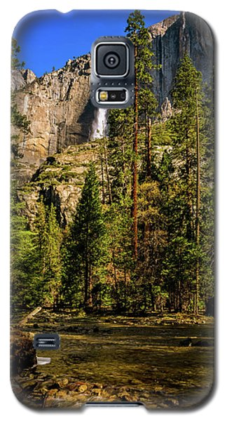 Upper Yosemite Falls From Yosemite Creek Galaxy S5 Case